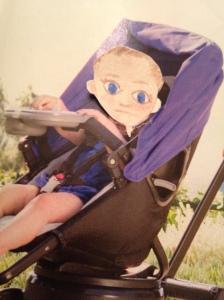 photo hummus stroller