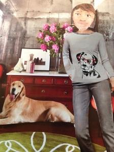 I wore my special dog whisperer shirt.