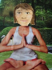 I am very zen.