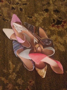 Aren't they a ll sweet?  I don't know what I will do with all of them but I had to have each and every pair.