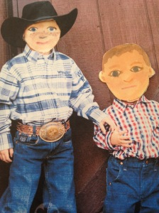 My lil' cowpokes loved it!