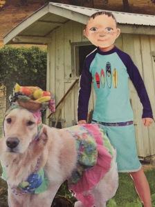 Merlin sure loves that dog.