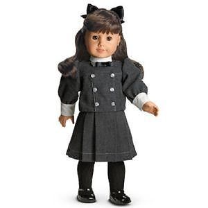 This year I bought her three dolls and lots of clothing.